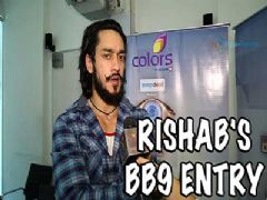 Rishab Sinha enters Bigg Boss season 9 as the first wild card entrant!