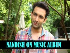 Nandish Sandhu talks about his experience for shooting a song