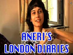 Whom Aneri Vajani met on her London trip?