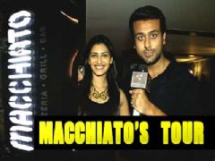 Ripudaman Handa and Shivangi Verma tours us their restaurant 'Macchiato'