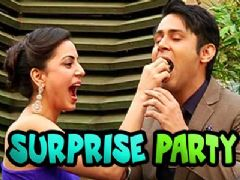 Shraddha Arya's surprise party