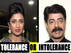 TV actors opinion Tolerance -Intolerance issue