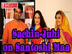 Juhi Parmar and Sachin Shroff come together with 'Santoshi Maa'