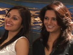Diana Hayden Meets Miss India World Pooja Chopra