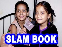 Sargam Khurana and Adaa Narang's Slam Book
