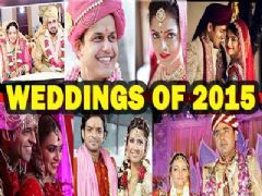 TV celebs and their Wedding affair