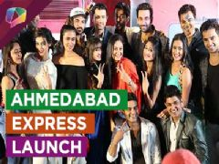 From the launch party of Ahmedabad Express  Part  -  1