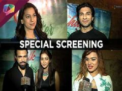TV celebs at Chalk and Duster special screening