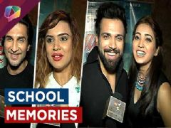 TV celebs' memories of their School days