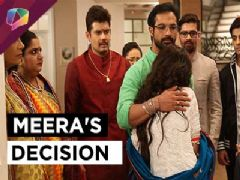 Will Meera return to Dharam house?
