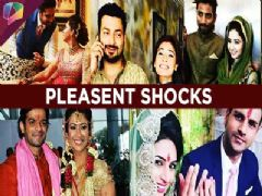 Tv celebs' unexpected engagement announcements