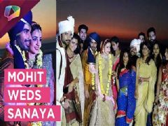 Sanaya Irani gets hitched to Mohit Sehgal