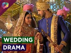 What happend at Madhav and Manu's wedding?