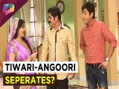 Vibhuti creates trouble between Tiwarji and Angoori