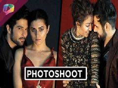 TV celebs shoot for Harper's Bazaar Bride