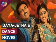 Dayaben and Jethalal show their dance moves for Holi special