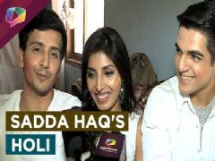 Holi fun with Harshita Gaur, Param Singh and Ashwini Koul