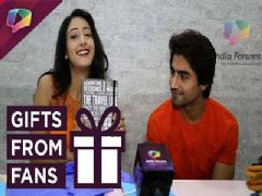Harshad Chopda and Shivya Pathania's gift segment! - Part 06