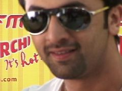 Ranbir promotes 'Rocket Singh - Salesman Of The Year' on Radio Mirchi