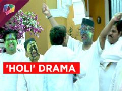 Drama amidst the Holi Celebration on Chidiya Ghar