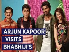Arjun Kapoor visits the team of Bhabhi Ji Ghar Par Hai