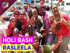 Celebs enjoy Holi at Holi Bash Rasleela.