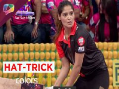Aarti Singh shines with a Hat-trick!