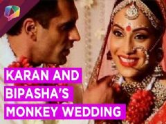 Watch the special video of Karan Singh Grover and Bipasha Basu Monkey Wedding