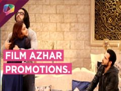 Emraan Hashmi promotes his film Azhar on the show Bahu hamari Rajni Kant