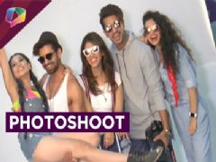 TV celebs do a summer themed photoshoot