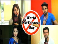 No Tobacco Day with Celebs | India Forum