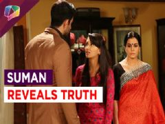 Suman Revealing Truth in front of Shravan in Show Ek Duje Ke Vaaste on Sony