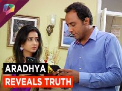 Aradhya reveals truth  about  Purva & Jairaj  in the rousing Show Krishnadasi on Colors