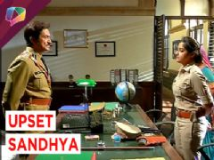 Upset Sandhya resigns from her duty!