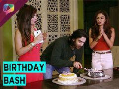 Shaan's birthday celebration on the set of Bahu Humari Rajni Kant