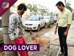 Varun Kapoor's love towards dogs on location of show Swaragini.