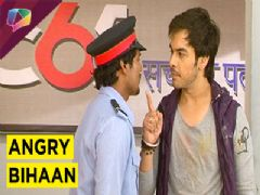 Cold war between Bihaan And Dhruv in Thapki Pyaar Ki on Colors TV.