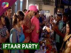 Iftaar party on the set of show Kuch Rang Pyar Ke Aise Bhi