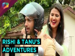 What happens when Rishi and Tanu go on a bike ride?