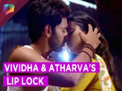 Romance is brewing passionately & boldly between Vividha & Atharav