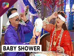 Rajnis dance and Baby Shower in Bahu Hamari Rajni Kant.