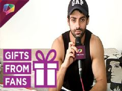 Watch Karan Wahi receive gifts from his fans