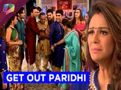 Rajbir throws out his new bride and teary eyed Paridhi