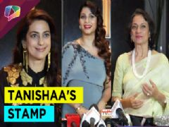 Tanishaa Mukherji clelebrates the success of her STAMP