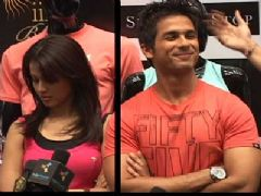 Shahid And Genelia At Shoppers Stop To Promote 'Chance Pe Dance' Apparel Line