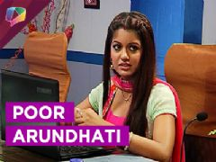 What is Arundhatis new problem ? Who will help her ?