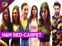 Stars at the Red-Carpet launch of an international retail store in Mumbai