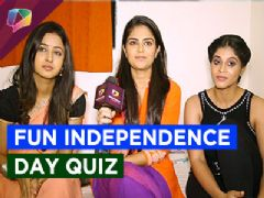 Fun Independence day quiz with Krishnadasi stars