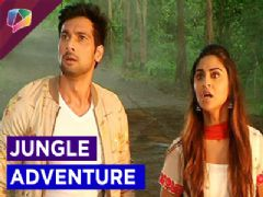 Rishab and Raina lost in jungle