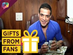 Karan Patel receives a special gift from someone